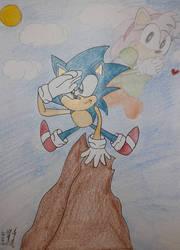 Sonic CD sketch