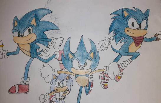 Sonic's 30th birthday Sketch