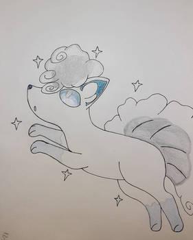 Alolan Vulpix Sketch