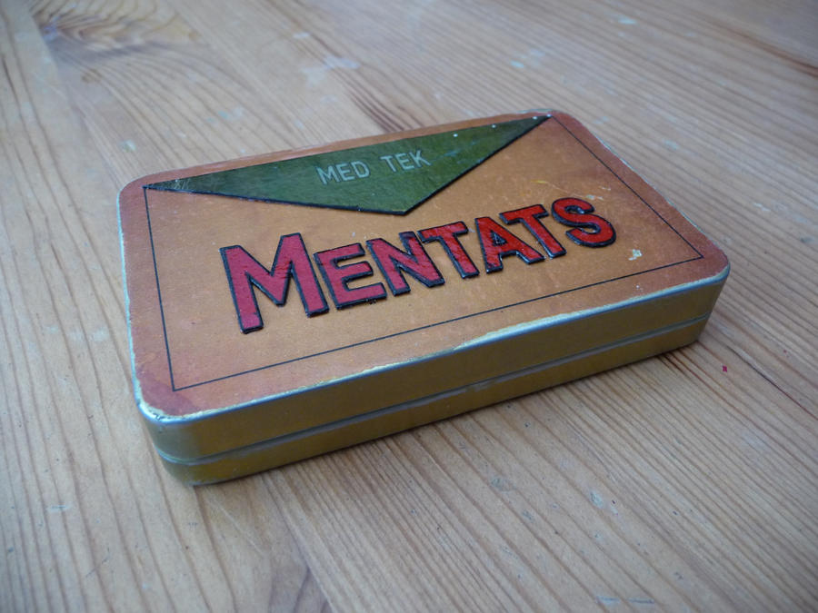 Mentats Tin Prop by chanced1