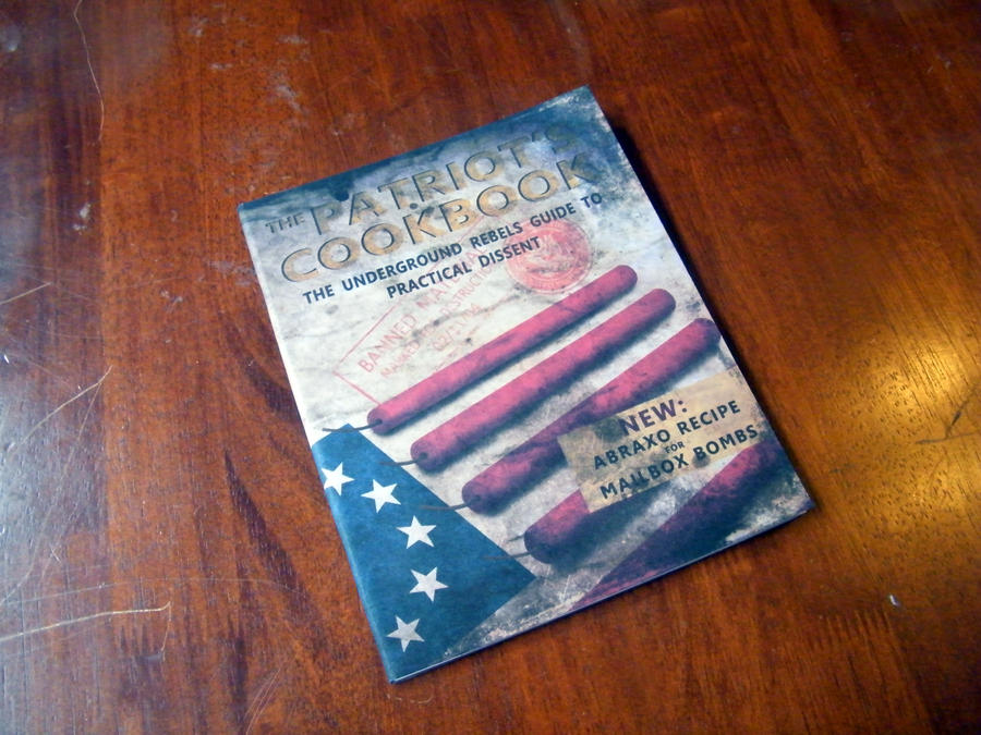 Patriot's Cookbook by chanced1