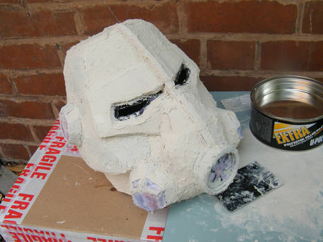 WIP Brotherhood of steel T-45d Helmet 2