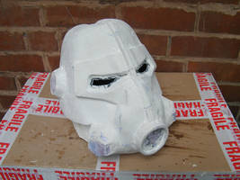 WIP Brotherhood of steel T-45d Helmet 3