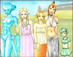 the girls of Zelda: OoT