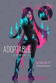 ADOPTABLE DEMON GIRL 4.0 (closed)