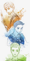 Newt and Mingo and Thomas