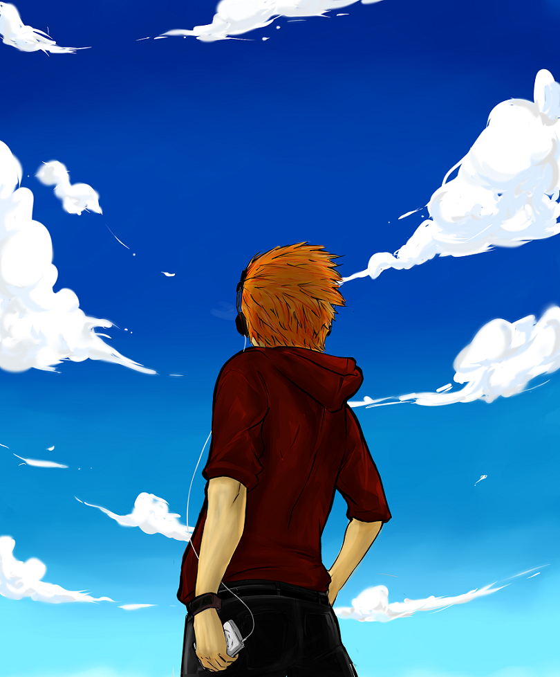 Looking Up To The Sky By Farhanif
