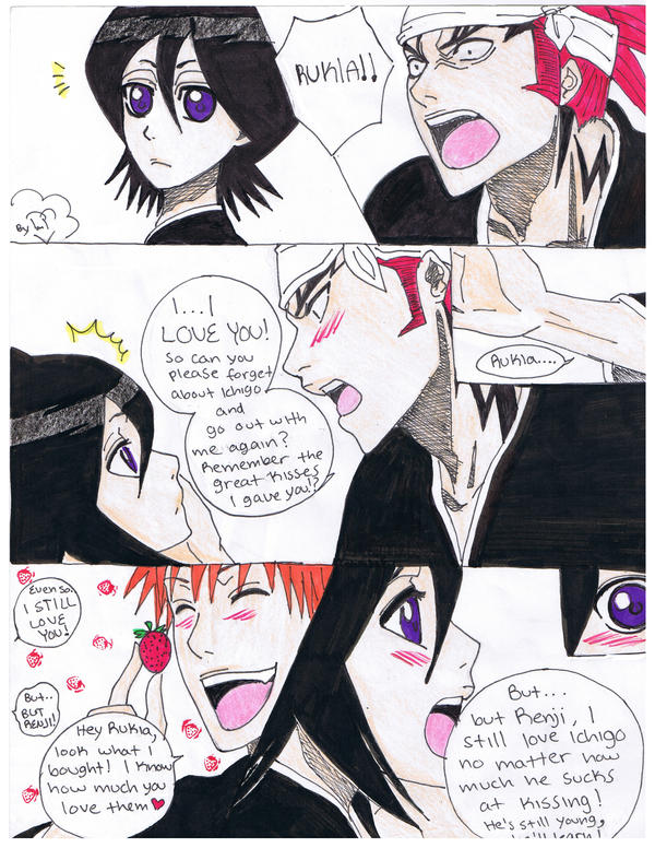 ichigo and rukia kiss - photo #45