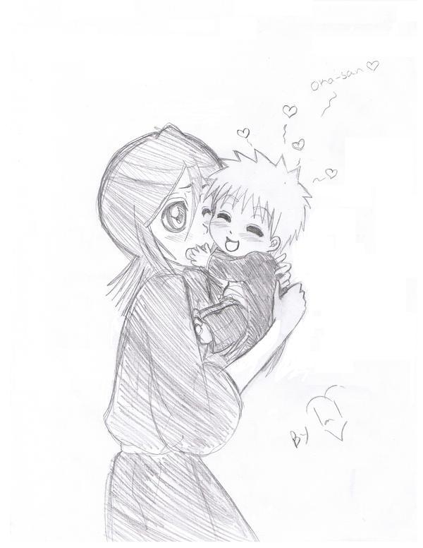 Ichigo And Rukia Baby rukia and baby by Pami...