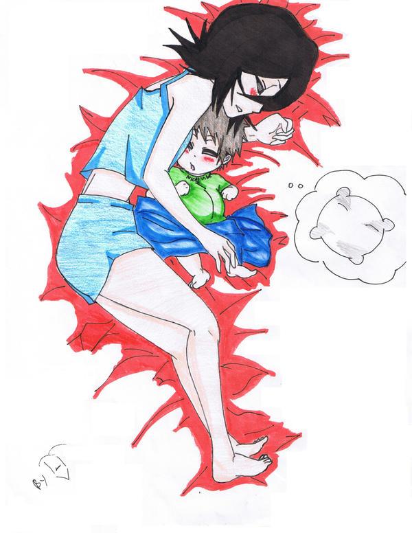 Ichigo And Rukia Baby Sleep rukia and baby b...