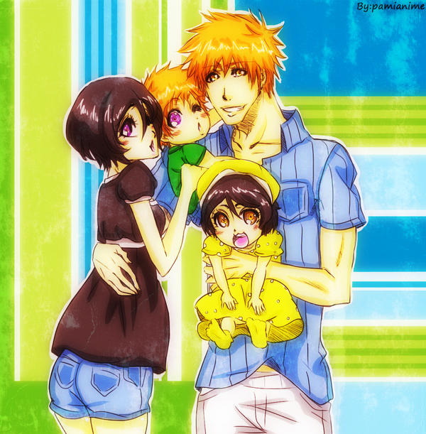 Cute family by Pamianime