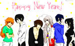 Happy New Years Guys! by Pamianime