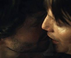 Hannigram: kiss by IrenSupernatural
