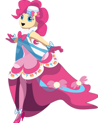 Princess of the Balloon City (pinkie at the gala) by Crystall00707