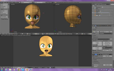 Anime/Cartoon 3D (Advancing) by Crystall00707