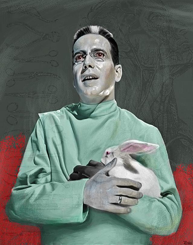 Bogart as Dr. X by castlemonster
