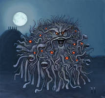 The Dunwich Horror by castlemonster