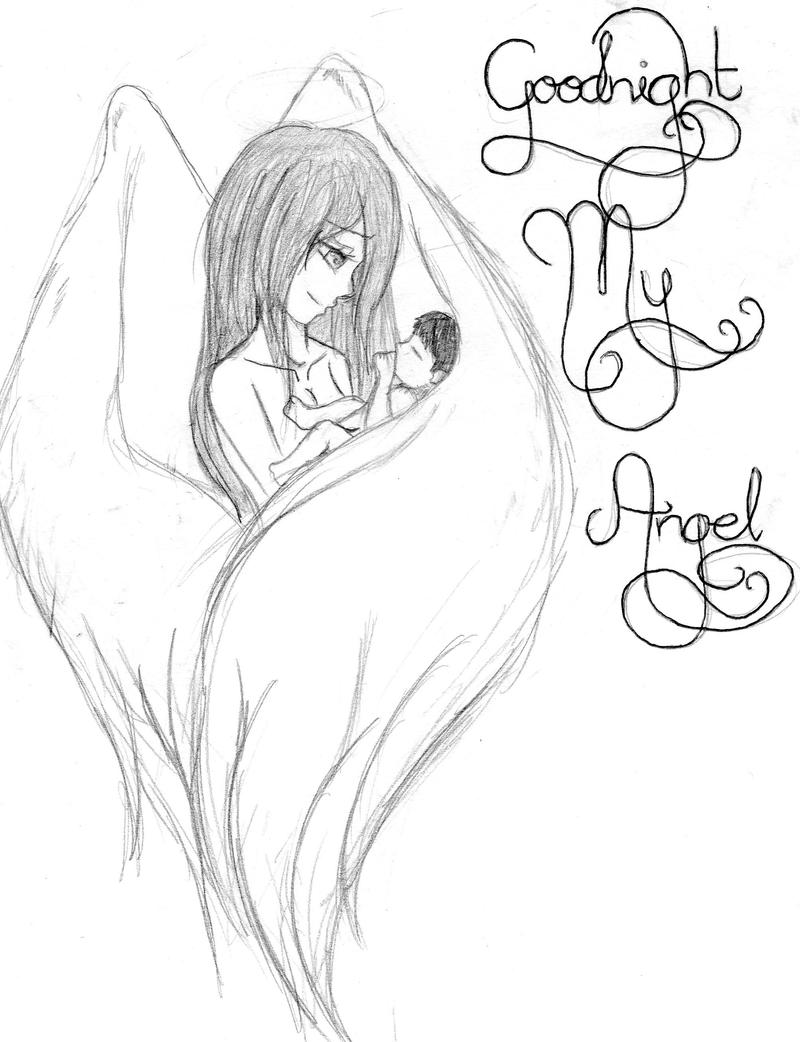 goodnight my angel by skullroseinc on deviantart
