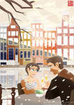 A Date in Amsterdam part 2 by DominicDrawsArt