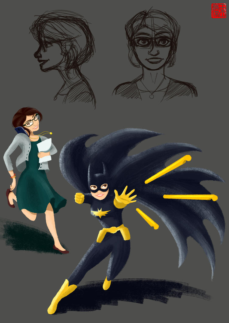 Batgirl?? by TheAmateurAesthete