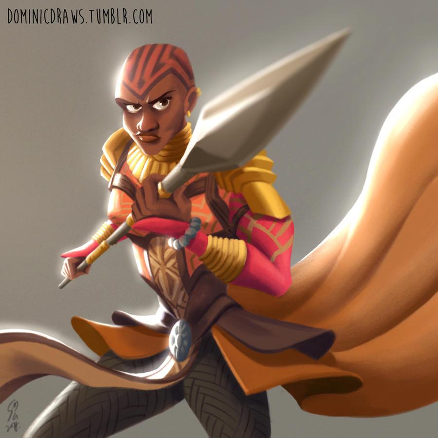 For Wakanda by DominicDrawsArt