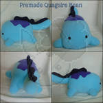 FOR SALE: Premade Quagsire Bean by BeanAndBeetlePlushes