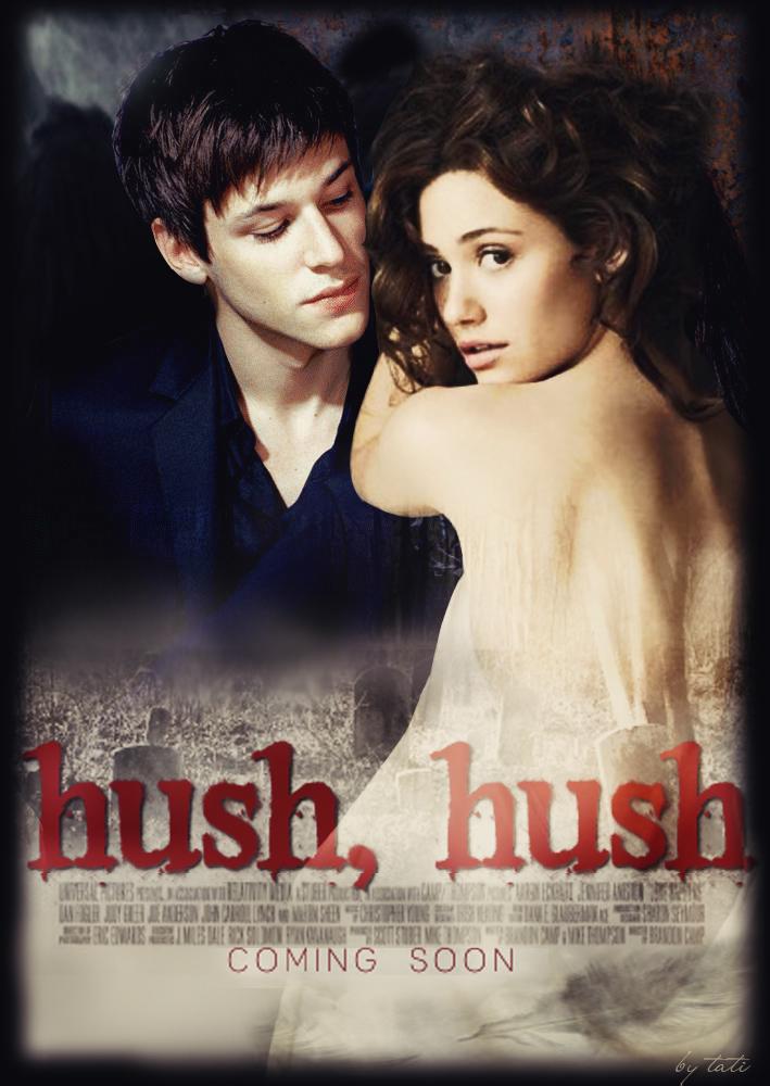 Poster 'Hush,hush' by MarkizaAngelov