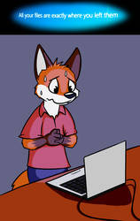 All your files are exactly where you left them by Geekfox
