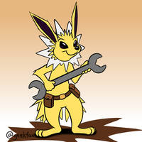 Mechanic(?) Jolteon