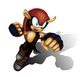 Mighty the Armadillo by sonicolas