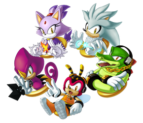 Sonic Charm Design Set 2 by sonicolas