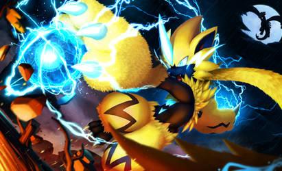 Fire Fighting Lightning, Zeraora