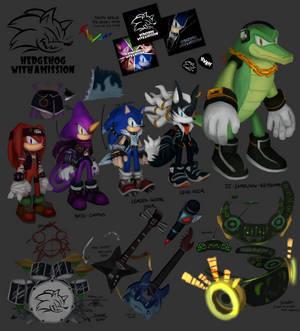 HWAM Rock Band Concept