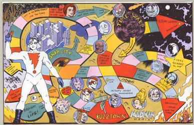 Madman boardgame by chioccioletta