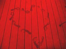 Footprint Heart by kripes