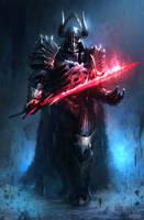 Dark Fantasy Lord Vader by conorburkeart