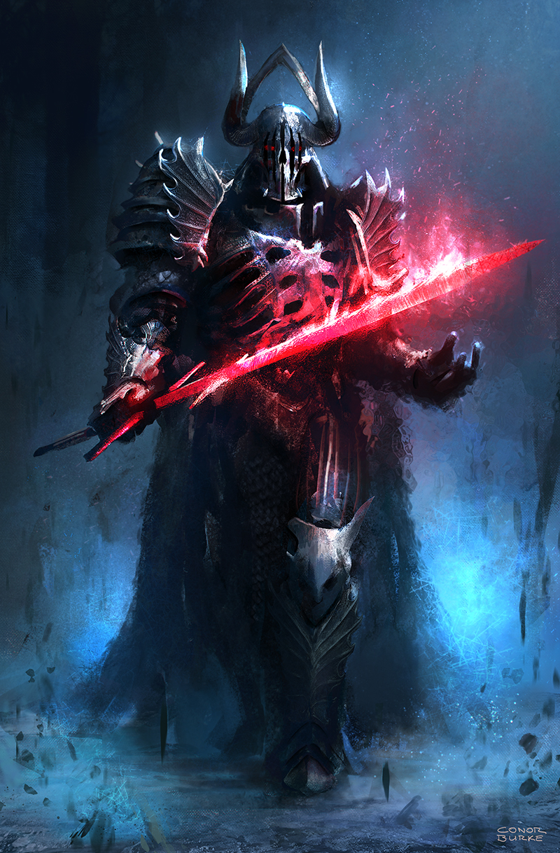 Dark Fantasy Lord Vader by conorburkeart