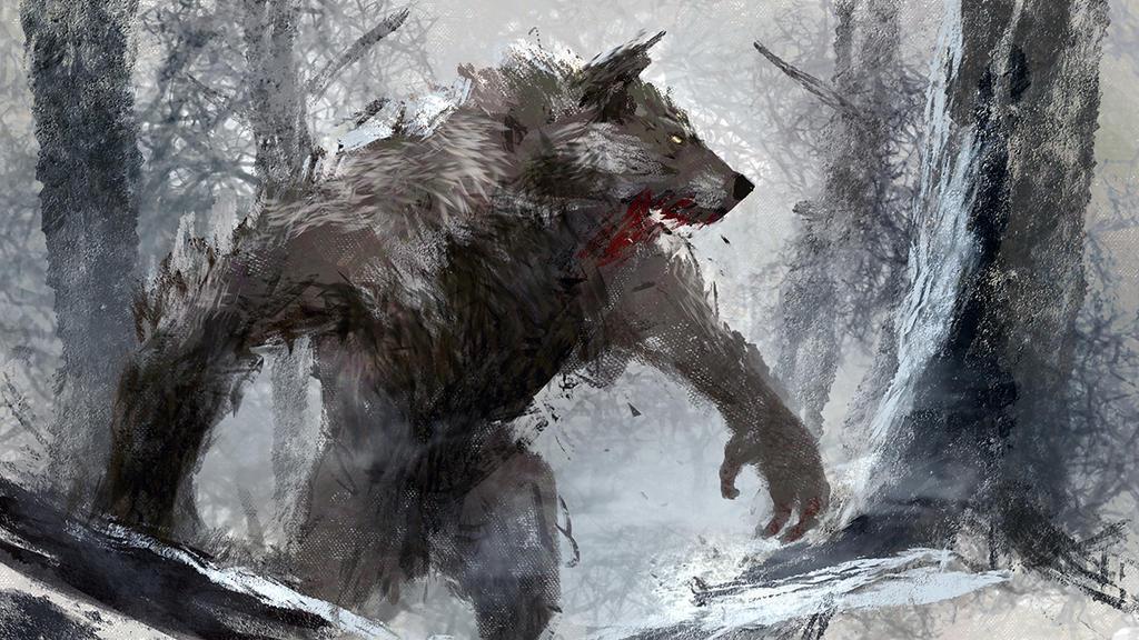 Nice werewolf - photo#52