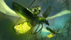 Firefly Riders by conorburkeart