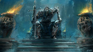 The Dark Lord arises by conorburkeart