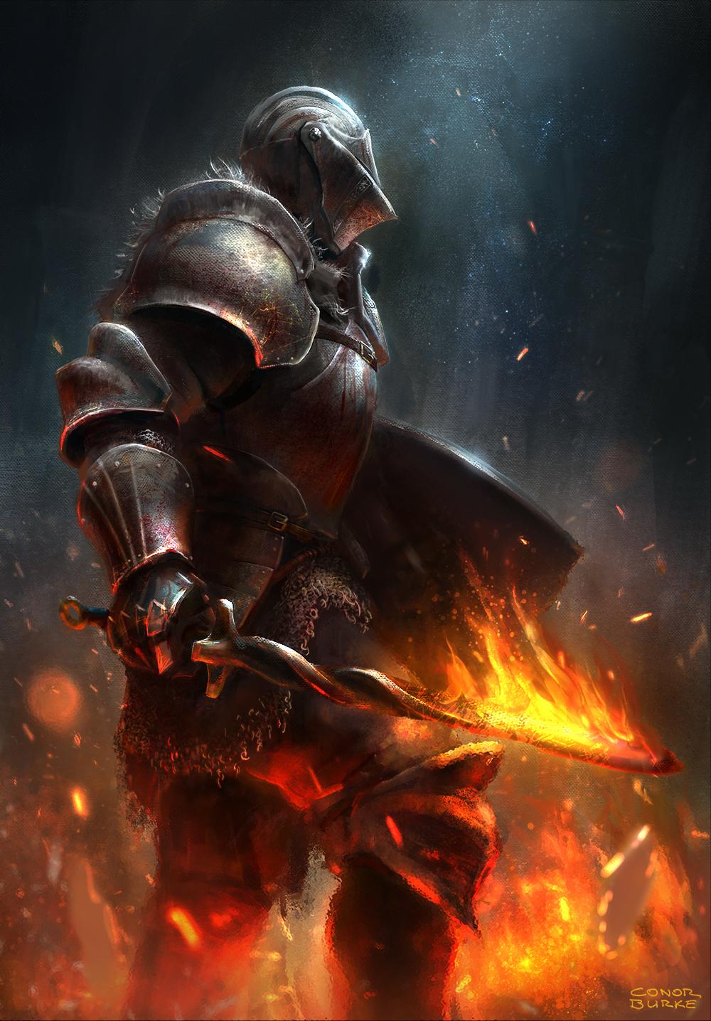 Dark Souls 3 by conorburkeart