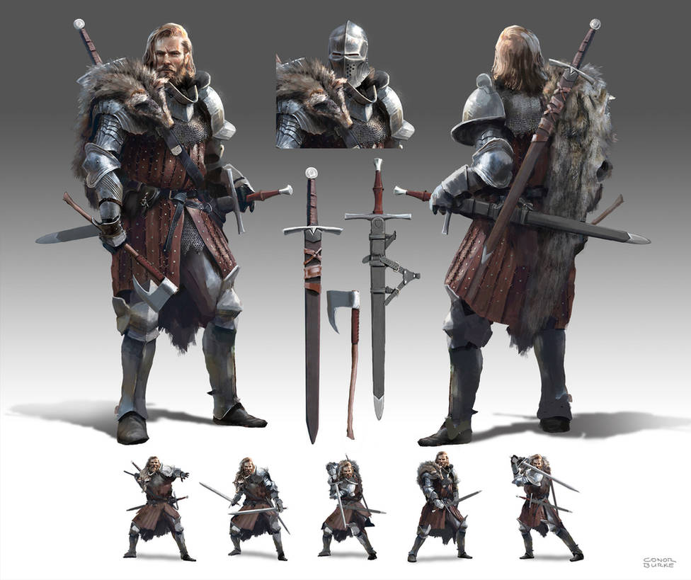 Knight Character Design