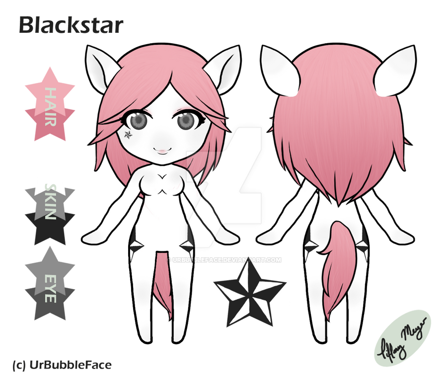 Blackstar Reference Sheet by UrBubbleFace