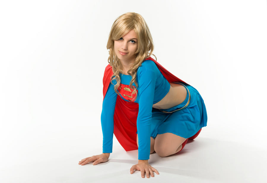 SuperGirl by BadLuckKitty