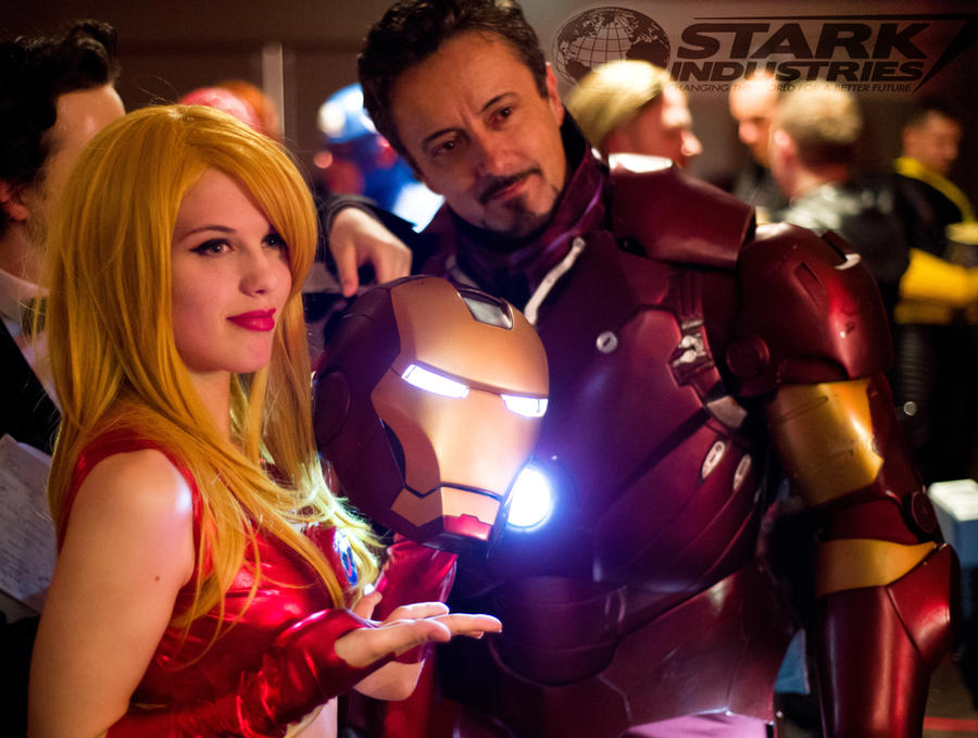Welcome to Stark Industries by BadLuckKitty