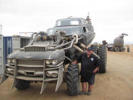 Mad Max 4 Fury Road 1959 Cadillac Gigahorse 1 by MALTIAN