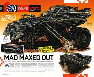Mad Max 4 Fury Road 1959 Cadillac Gigahorse 2 by MALTIAN