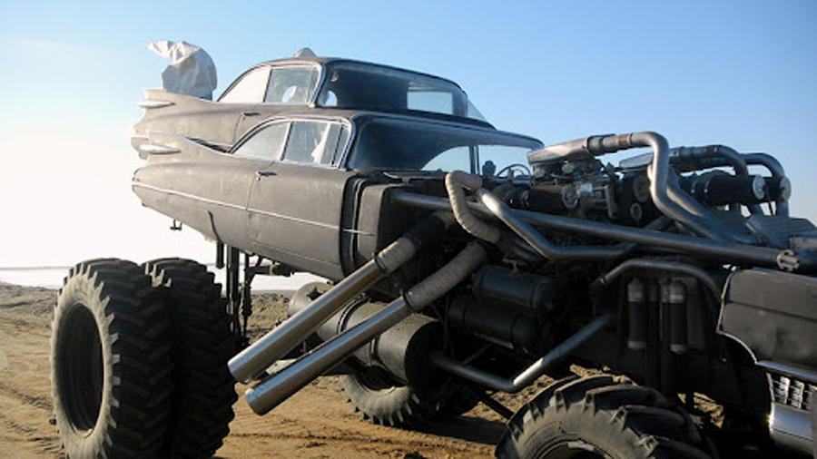 Mad Max 4 Fury Road 1959 Cadillac Gigahorse 4 by MALTIAN ...