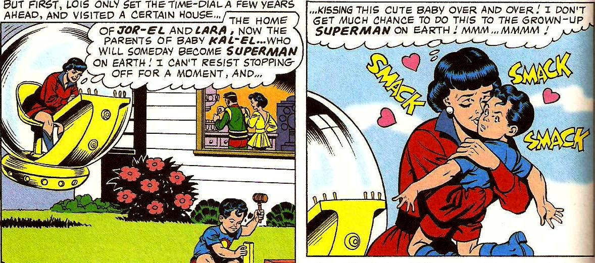 Age Regression Comics