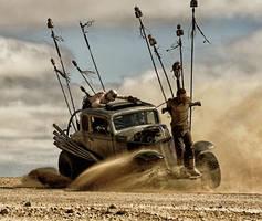 Mad Maxy 4 Fury Road Hot Rod by MALTIAN